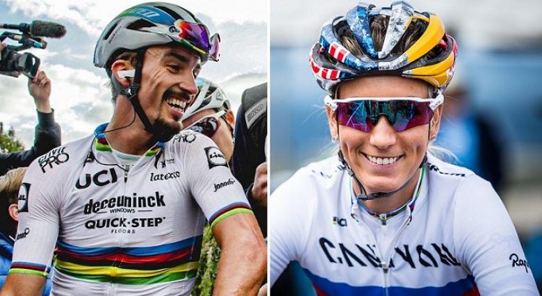 Sport - Ferrand-Prévot et Alaphilippe, champions français de l'année