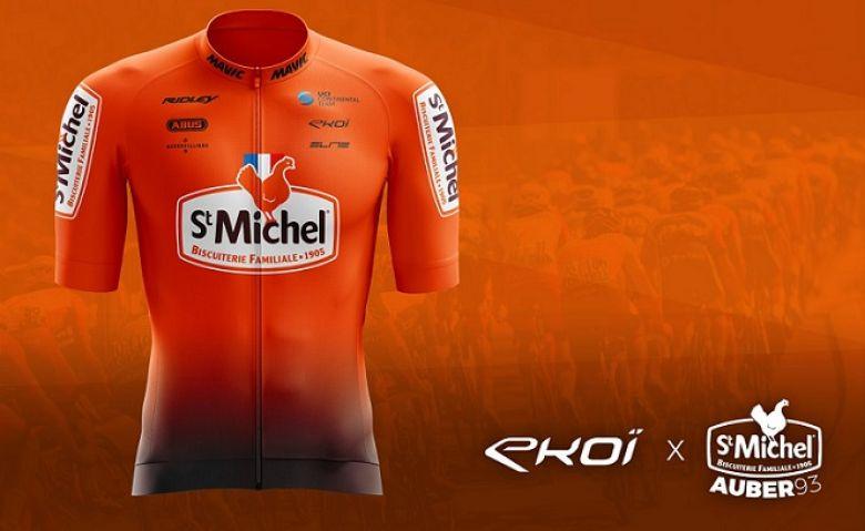 Route - Le maillot de la formation St Michel-Auber93 évolue en 2021