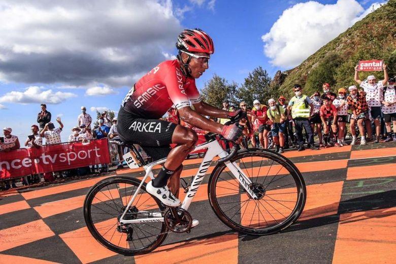 Route - Nairo Quintana de retour à l'entraînement en Colombie