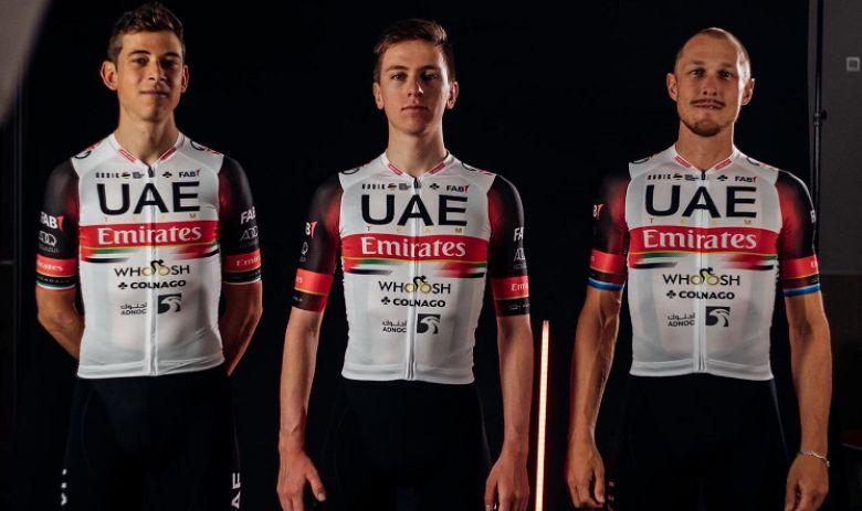 Route - Des évolutions sur le maillot d'UAE-Team Emirates en 2021