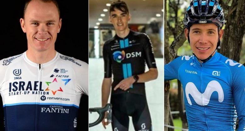 Route - Froome, Lopez, Bardet... ils posent avec leur nouveau maillot