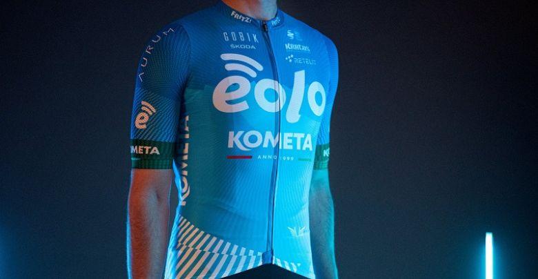 Route - EOLO-Kometa dévoile son nouveau maillot pour la saison 2021