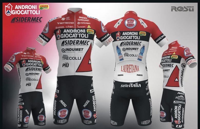 Route - Androni Giocattoli-Sidermec présente son maillot 2021