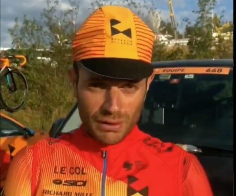 Route - Caruso : «Maintenir le niveau que j'avais la saison passée»