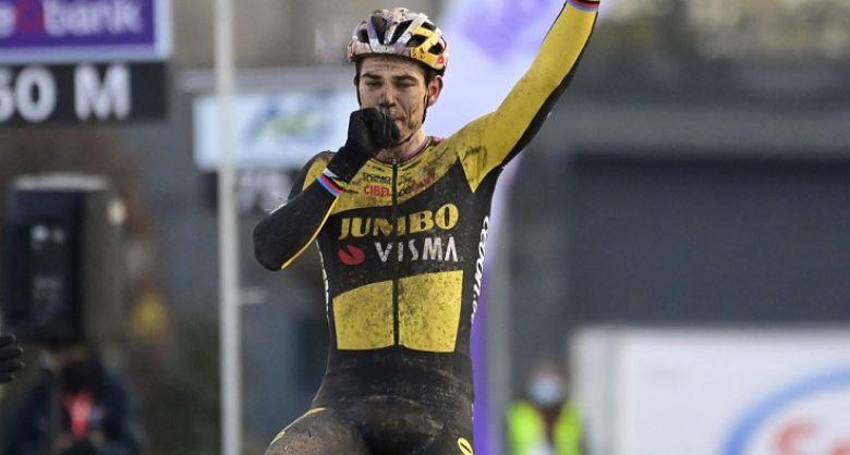 Cyclo-cross - Belgique - Wout Van Aert s'offre son quatrième titre