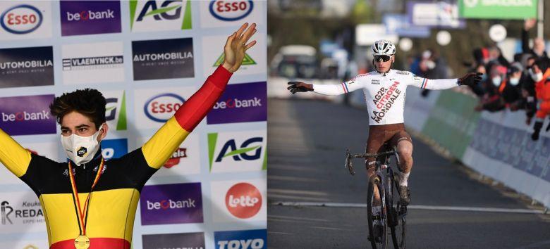 Cyclo-cross - Van Aert, Venturini... tous les champions nationaux