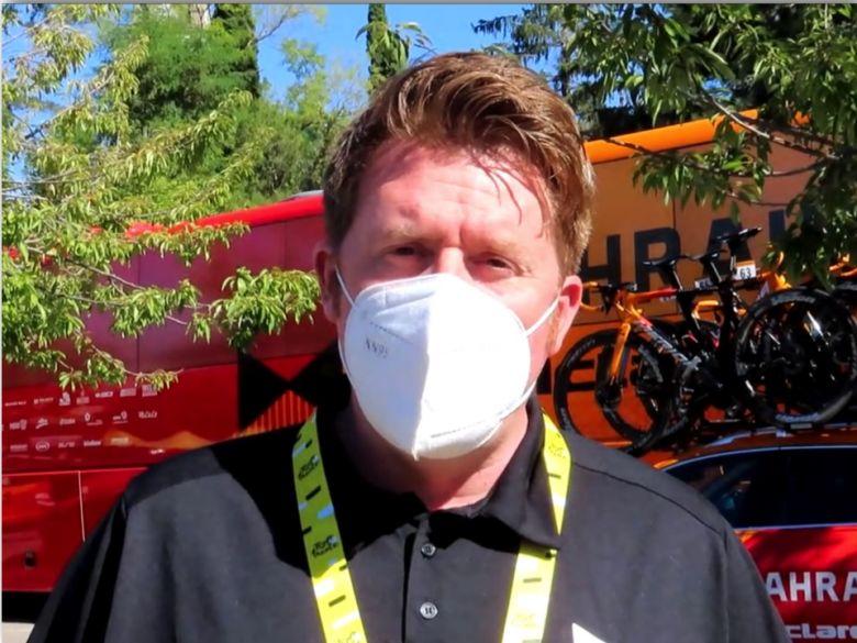 Route - Rod Ellingworth : «Difficile de partir de Bahrain Victorious»