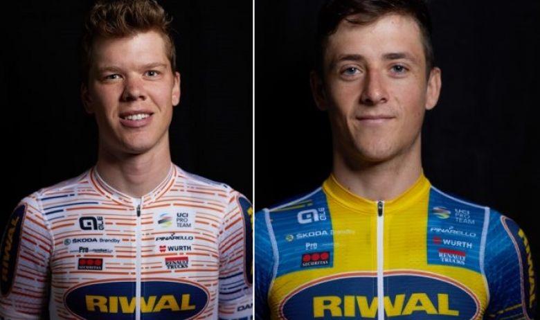 Route - Kim Magnusson et Lukas Eriksson restent chez Riwal Cycling