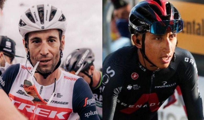 Route - Nibali : «Egan Bernal, c'est le jeune que j'apprécie le plus»