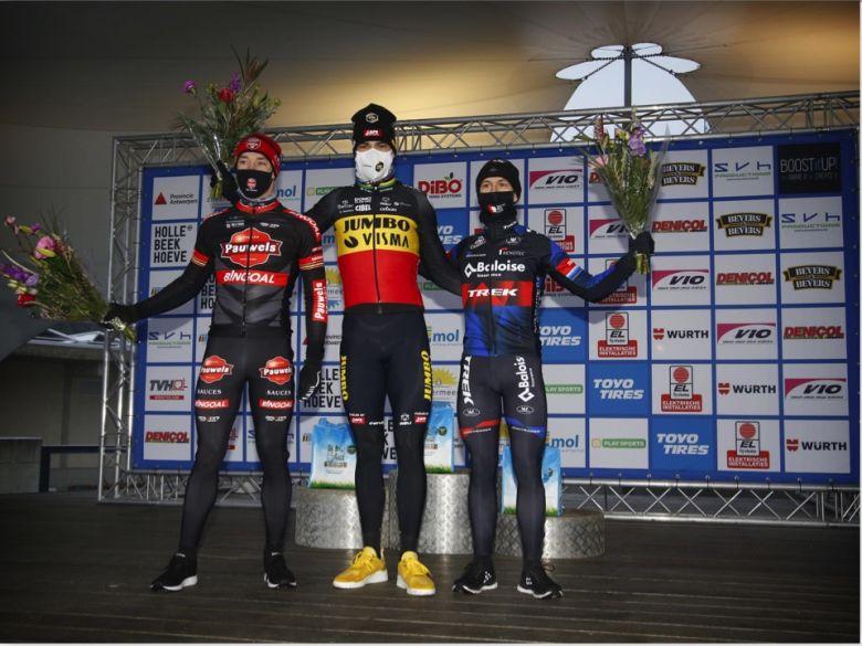Cyclo-cross - Wout Van Aert : «Je n'ai pas souffert de la neige»