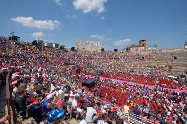 Tour d'Italie - Vérone va accueillir une arrivée d'étape du Giro