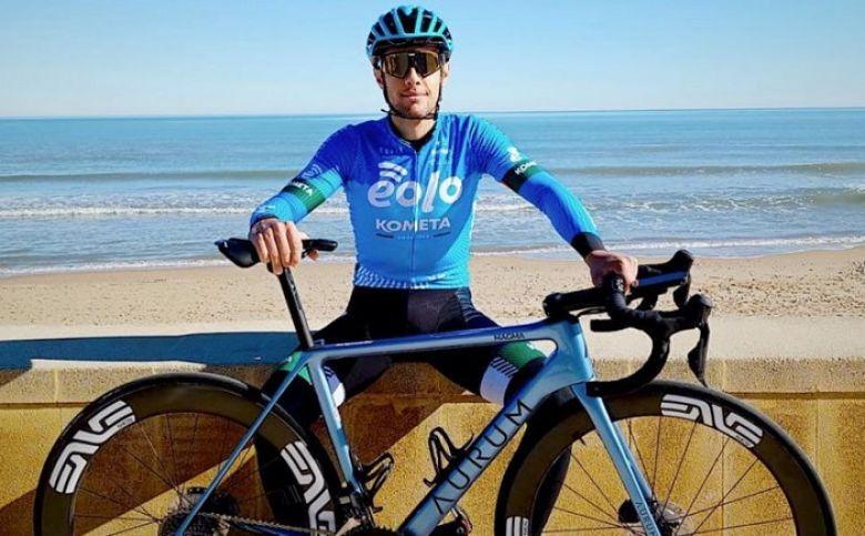 Route - Vincenzo Albanese : «Un honneur de courir pour EOLO-Kometa»
