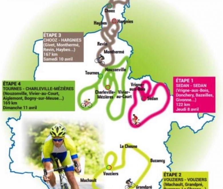 Circuit des Ardennes - Les quatre étapes de la 46e édition révélées