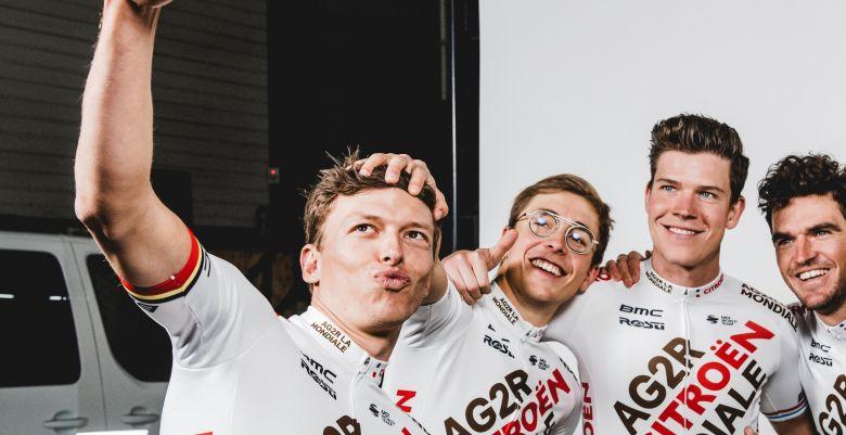 Tour de France - Van Avermaet, Jungels, Naesen et Cosnefroy y seront