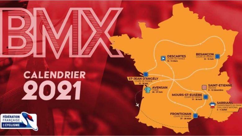 BMX - La Coupe de France 2021 de BMX sera constituée de 10 courses !