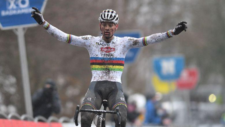 Cyclo-cross - Mathieu van der Poel «n'a pas fait une super course»