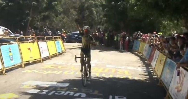 Tour du Tachira - La 7e étape pour Alarcon, Campos contrôle Sevilla
