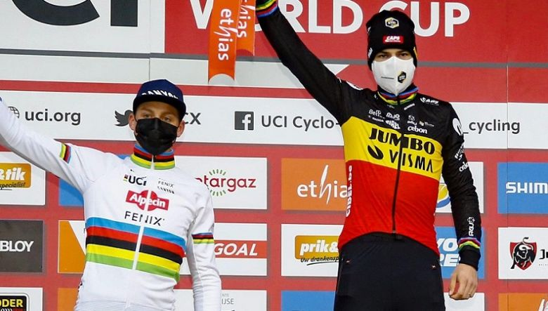 Cyclo-cross - Van Aert : «Van der Poel ce sera le favori des Mondiaux»