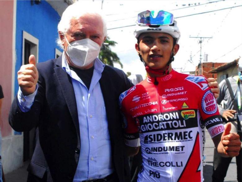 Route - Santiago Umba : «J'ai contacté Gianni Savio grâce à Quintana»