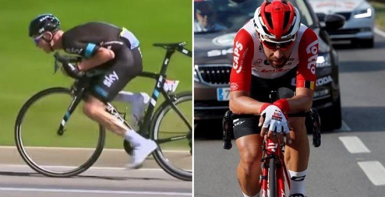 Route - Les 2 positions sur le vélo interdites par l'UCI au 1er avril
