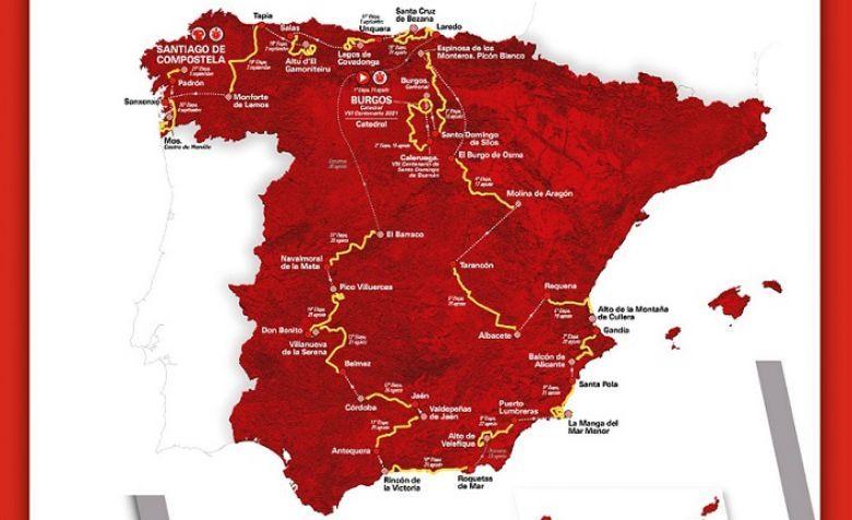Tour d'Espagne - Tout sur la 76e édition de La Vuelta qui a débuté !