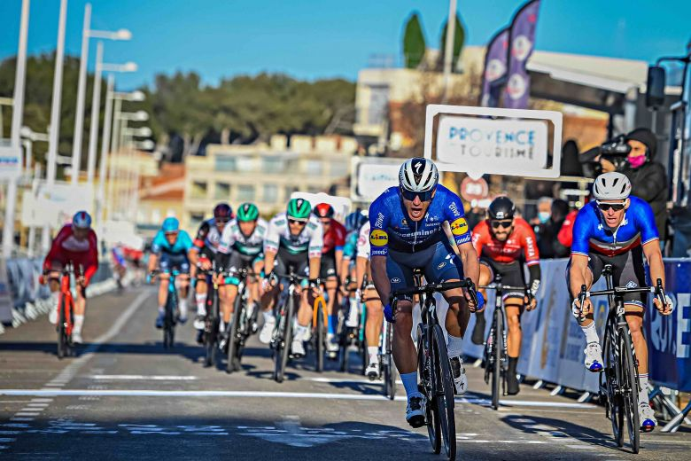 Tour de La Provence - La 1ère étape pour Ballerini ! Arnaud Démare 2e