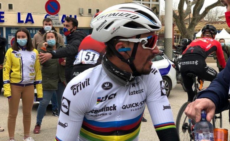 Tour de La Provence - Julian Alaphilippe : «Ça commence très bien...»