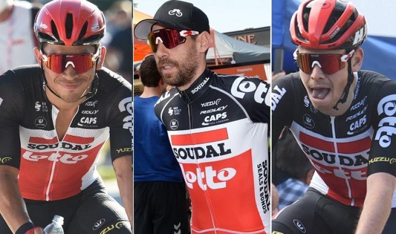 UAE Tour - Ewan, De Gendt, Vanhoucke... la sélection de Lotto Soudal