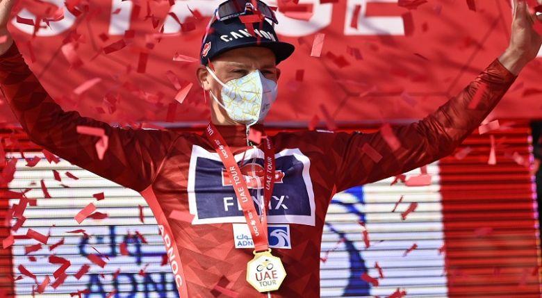 UAE Tour - Van der Poel : «Je ne m'attendais pas à cette victoire»