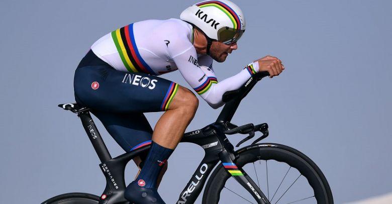 UAE Tour - Ganna remporte la 2e étape, Tadej Pogacar nouveau leader