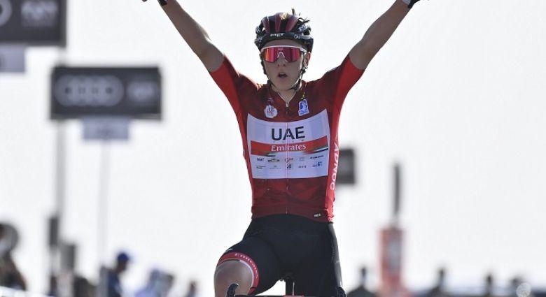 UAE Tour - Tadej Pogacar remporte la 3e étape devant Adam Yates