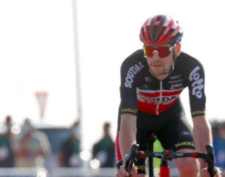 UAE Tour - Harm Vanhoucke : «Peut-être que le top 10 est possible»
