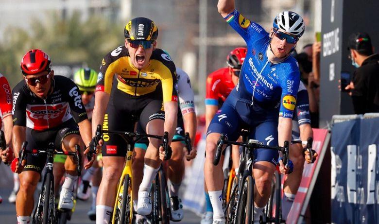 UAE Tour - Sam Bennett remporte la 4e étape devant Dekker et Ewan