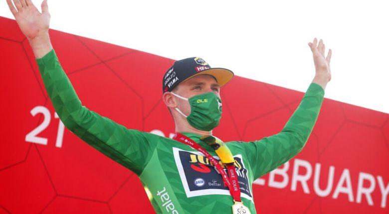 UAE Tour - David Dekker 2e derrière Bennett : «J'étais un peu frustré»