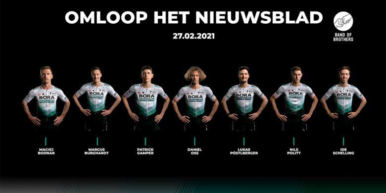 Omloop Het Nieuwsblad - Sans Sagan, Bora-Hansgrohe mise sur Politt