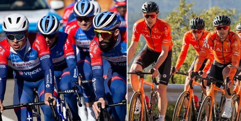 Tour de Suisse - Team Total Direct Energie et Rally Cycling y seront