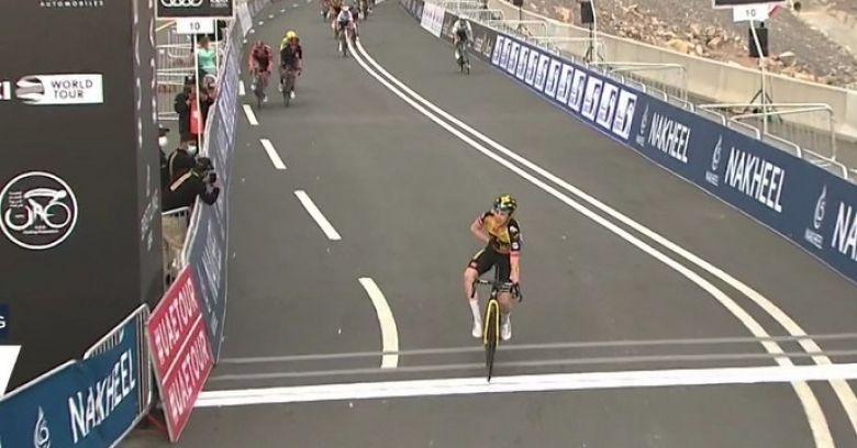 UAE Tour - Jonas Vingegaard gagne la 5e étape, Pogacar pas inquiété