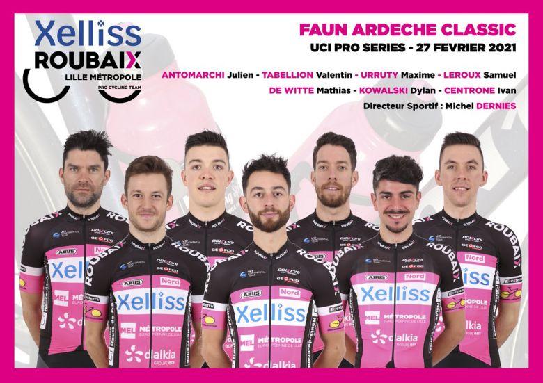 Boucles Drôme-Ardèche - La sélection Xelliss-Roubaix Lille Métropole