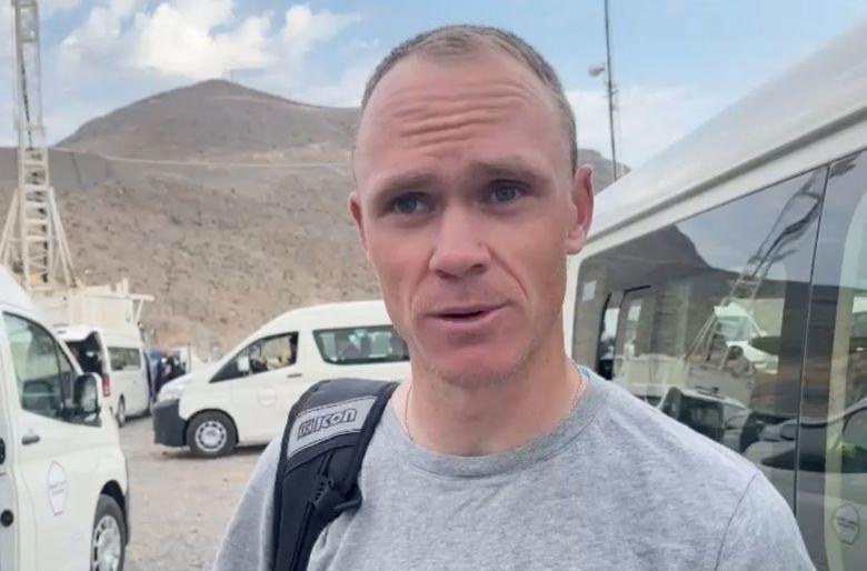 UAE Tour - Chris Froome, confiant : «Les choses se mettent en ordre»