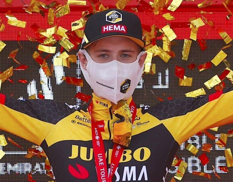 UAE Tour - Jonas Vingegaard : «C'est une grande victoire pour moi»