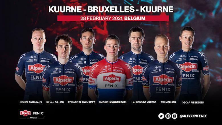 Route - Van der Poel aligné sur Kuurne mais pas le Het Nieuwsblad