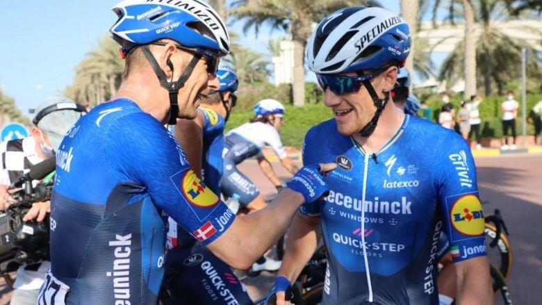 UAE Tour - Sam Bennett : «On commence vraiment bien à se connaître»