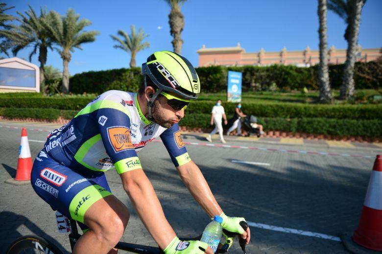 UAE Tour - Riccardo Minali, 11e à l'arrivée : «Cela me rend très déçu»