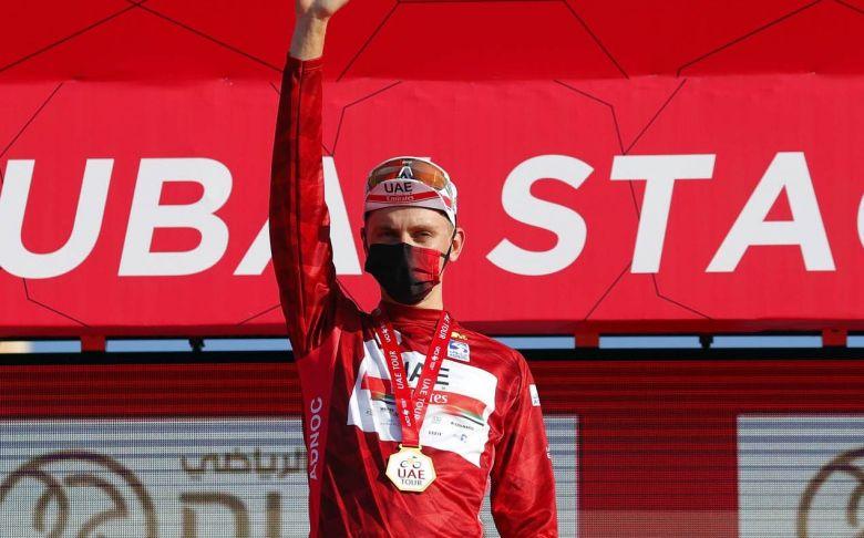 UAE Tour - Tadej Pogacar : «L'UAE Tour, c'était mon 1er gros objectif»