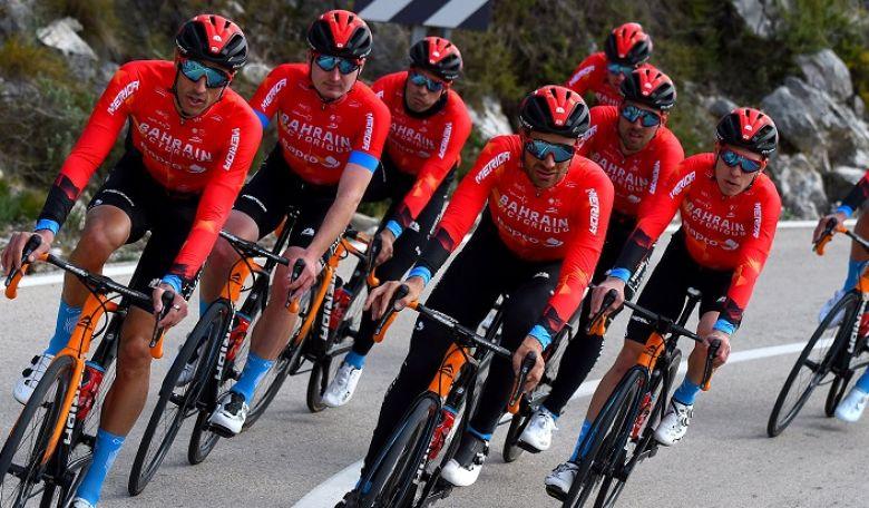 Route - Laigueglia, Strade... les sélections de Bahrain Victorious