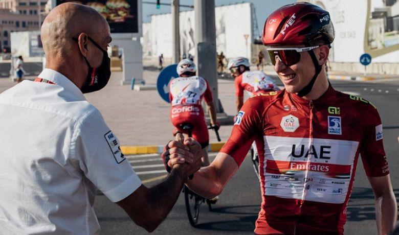 Route - Tadej Pogacar prolonge jusqu'en 2026 avec UAE-Team Emirates !