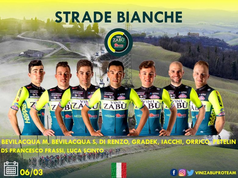 Route - Strade Bianche, Larciano... les sélections de Vini-Zabù