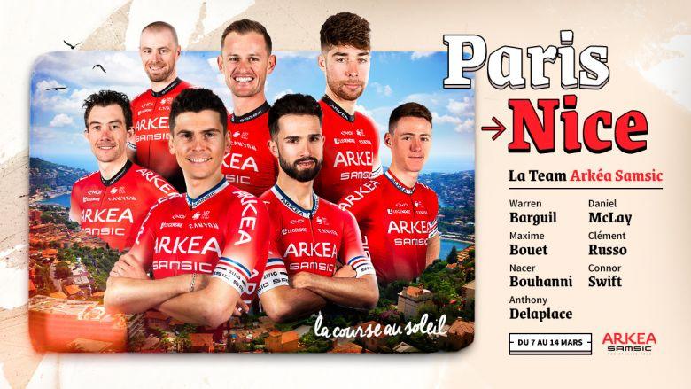 Paris-Nice - Warren Barguil et Nacer Bouhanni pour mener Arkéa-Samsic