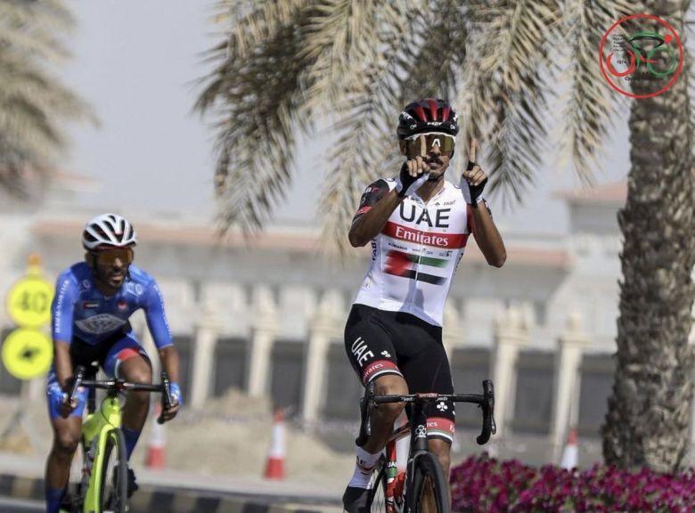 Route - Yousif Mirza champion des Émirats Arabes Unis pour la 11e fois
