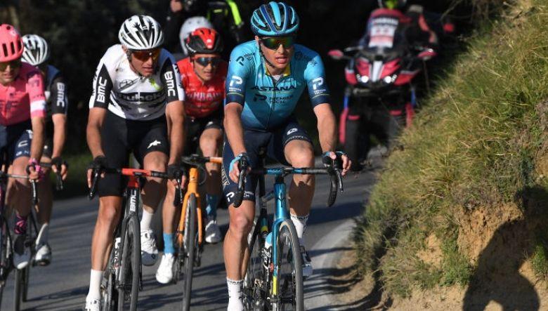 Strade Bianche - Fuglsang : «Un top 5 aurait été plus satisfaisant»